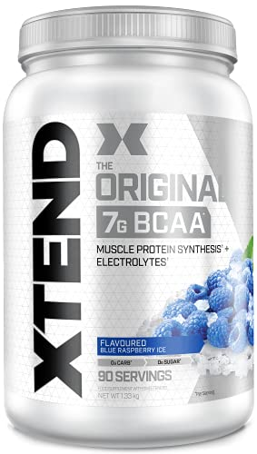 XTEND Original BCAA Blue Raspberry Ice   Branched Chain Amino Acids...