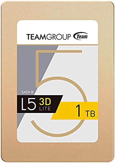 "Team Group L5 LITE 3D 2.5"" 1TB Internal Solid State Drive"