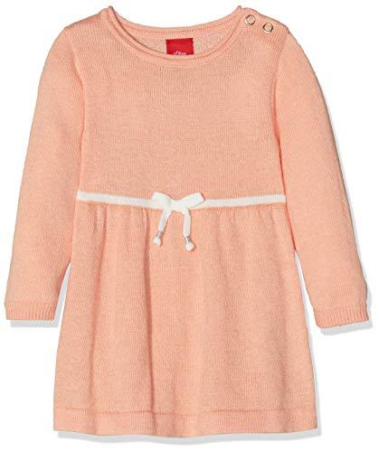 s.Oliver Baby-Mädchen 65.811.82.5038 Kleid, Orange (Apricot 2021), 92