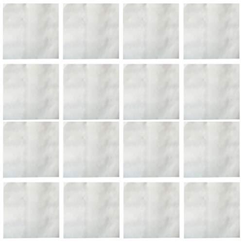 PRETYZOOM 20 Stück Leder Reparatur Patch Wasserdicht Selbstklebende Couch Patch für Sofa Autositze Handtaschen Jacken Weiß