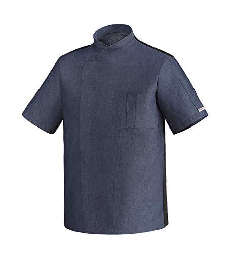 Egochef - Chaqueta Chef - Hombre Azul Blu jeans