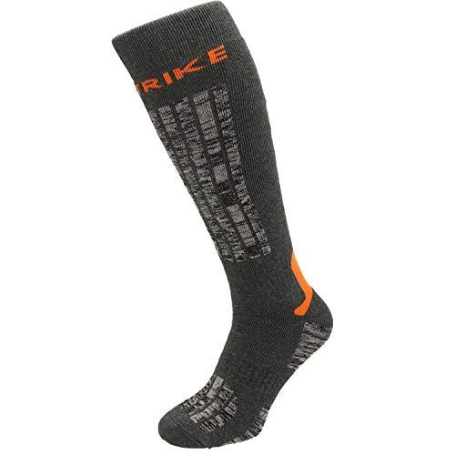 Instrike Essential Eishockey Skate Socken lang und warm für Eishockey Skifahren (Euro 43-46)