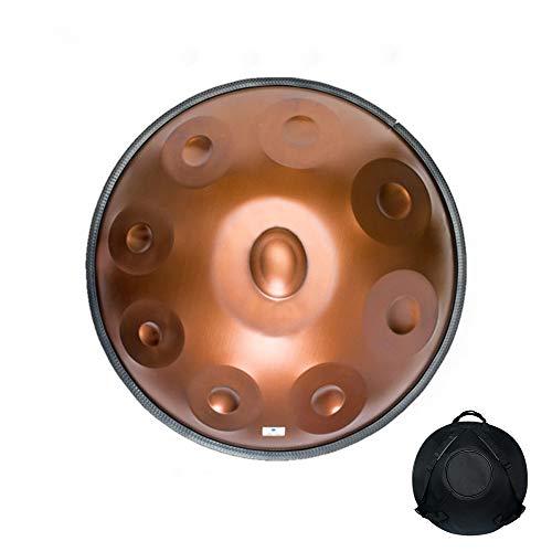 JFZS Handpan Tongue Drum 9 Notes 22 Zoll Tank Drum Steel Percussion Drum Instrument Mit Reisetasche,A