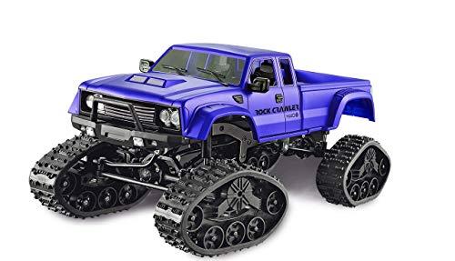 Amewi 22394 blau Pickup Truck mit Rädern & Ketten 4WD 1:16