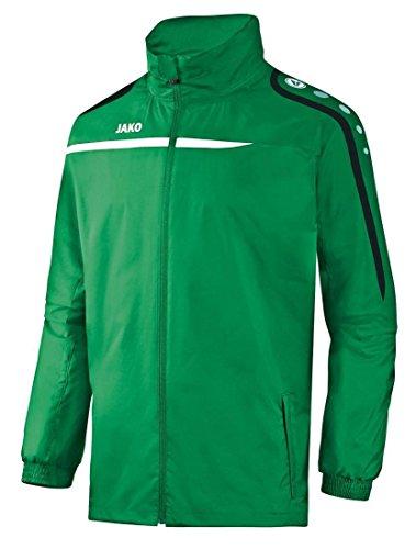 Jako Herren Allwetterjacke Performance Jacke, sportgrün/Weiß/Schwarz, XL
