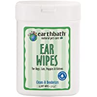 25-Count Earthbath All Natural Specialty Ear Wipes
