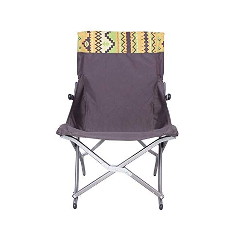 Comfortable Outdoor Camping Chair - Folding, Compact, Lightweight & Portable. Comfortable Design. Best for RV, Outdoor Hiking, Fishing, Hunting, Kayaking, Backpacking, Festivals, Concerts, and Travel,