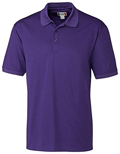 Clique Herren Poloshirt Oslo Pique - Violett - XX-Large