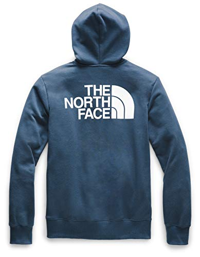 The North Face Men's Half Dome Full Zip Hoodie, Blue Wing Teal, M