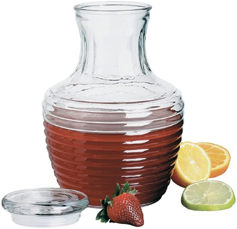 Anchor Hocking 79013 Chiller Glass Pitcher With Lid 64 Ounce