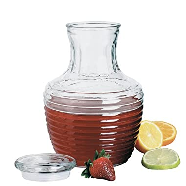 Anchor Hocking 79013 Chiller Glass Pitcher with Lid, 64-Ounce