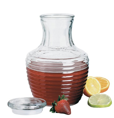 Anchor Hocking Chiller Glass Pitcher with Lid, 64-Ounce
