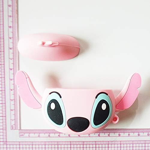Neaer Housse de protection en silicone pour écouteurs AirPods Motif Pokémon Pikachu Rose