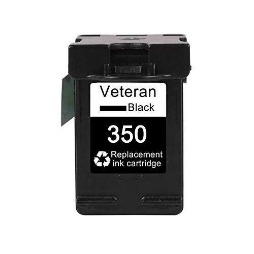LIUYB Reemplazo del Cartucho de Tinta Veteran 350XL 351XL for HP 350 351 HP350 D4200 C4480 C4580 C4380 C4400 C4580 C5280 C5200 C5240 Impresora (Color : 350XL)