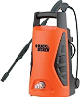 BLACK+DECKER PW1370TD-IN 1300W 100Bar, 360L/Hr Pressure Washer for Car wash and Home use (Orange and Black)