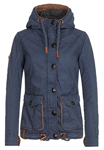 Damen Jacke Naketano Strength Of Streetknowledge Jacke S Dark Blue