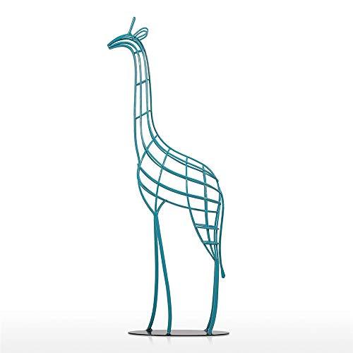 Estatua Creativa de Hierro de la Jirafa