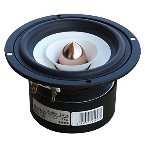 Wnuanjun 2 stücke loderlink Audio Labs top Ende 4 Zoll Full Reis Monitor Lautsprecher Twitter toofer Aluminium Bullet HEA 2 Layer kapton Cone (Farbe : 4OHM)