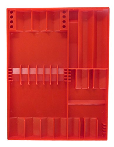 Tool Sorter Screwdriver Organizer Red