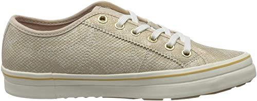 s.Oliver Damen 5-5-23640-24 Sneaker, Beige (Champagne Snake 497), 37 EU