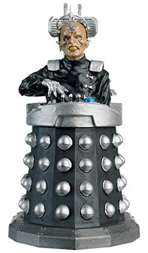 Doctor Who Figurine Collection - Figure #2 - Davros Creator of The Daleks - Hand Painted 1:21 Scale Model - Collector Boxed by Eaglemoss / Doctor Who