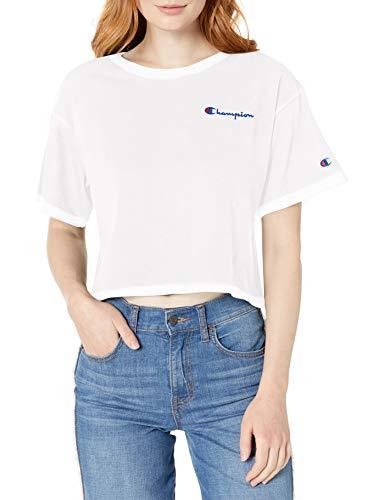 10 best crop white tshirt for 2021