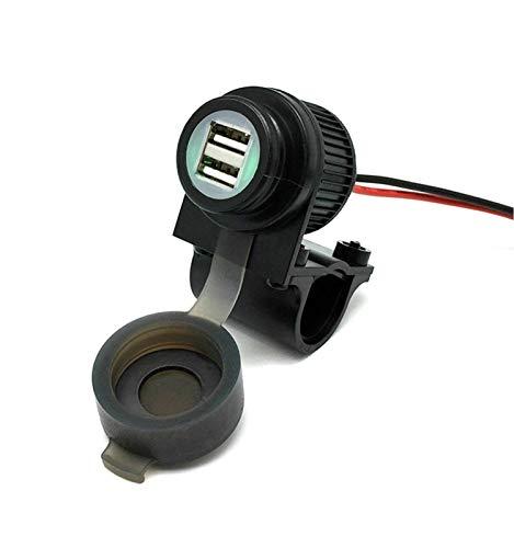 Cliff-Top 4 ampères Moto commutateur magnétique USB chargeur - Prévient le drain de la batterie