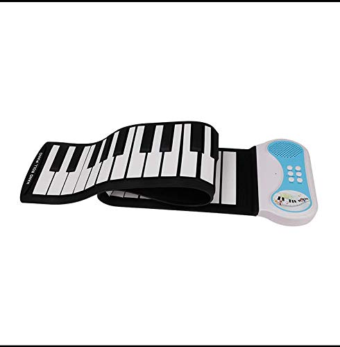 Save %6 Now! PN49S Roll MIDI OUT 49Keys Roll Up Piano Portable Electronic Piano Keyboard Christmas T...