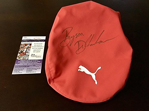 Fantastic Deal! Bryson Dechambeau Signed Round Used Puma Golf Hat Coa - JSA Certified - Autographed ...