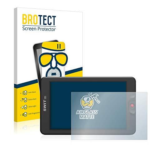 BROTECT AirGlass Matte Premium Glasfolie für Swit 3000 (extrahart, ultradünn, matt und entspiegelnd, Anti-Fingerprint, flexibel)