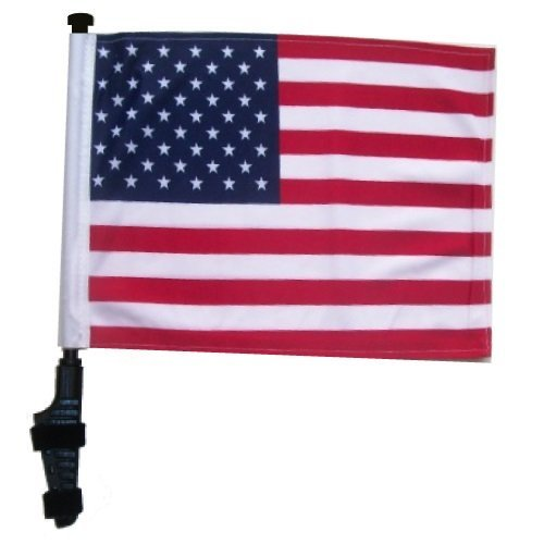SSP Flags USA Golf Cart Flag EZ On & Off Bracket