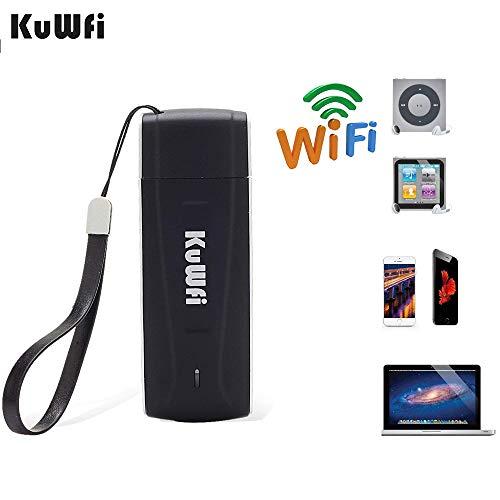 LTE Surfstick, 150MBit/s freigesetzter Pocket 4G-WLAN-Router Netzwerk-Hotspot 4G / 3G / 2G-WLAN-Router mit SIM-Kartensteckplatz Unterstützung für B1 / B3 / B5-FDD im Bus oder im Auto