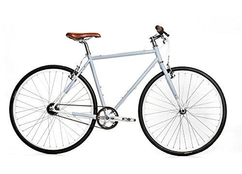 Brilliant Bikes Brilliant Bicycle Co - l-Train, Small, Subway Grey, 50cm/Small