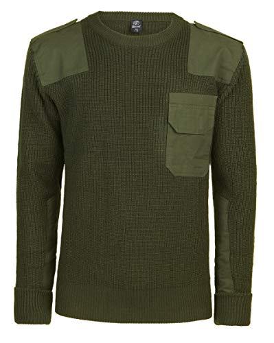 Brandit BW-Pullover - Rundhals - Oliv - Größe 3XL/60