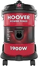 Hoover Powerforce Tank Vacuum Cleaner, Red, 18 Liters, 1900W, HT87-T1-ME
