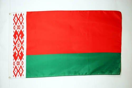 AZ FLAG Flagge WEIßRUSSLAND 90x60cm - WEIßRUSSISCHE Fahne 60 x 90 cm - flaggen Top Qualität