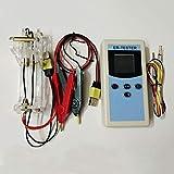 Isunking Batería de 4 Líneas ER-Tester, Batería de Litio de Alta Precisión Instrumento de Prueba de RInterna Ni MH Ni CD Botón Probador de Batería (Set E)