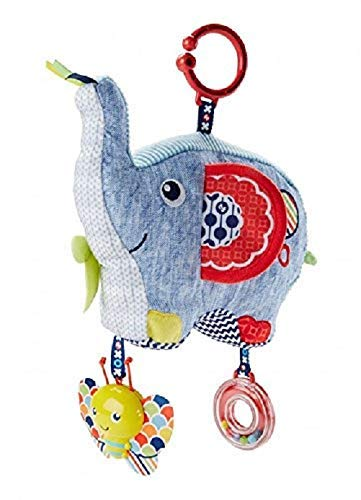 Mattel Fisher-Price DYF88 - Kleiner Spiel-Elefant
