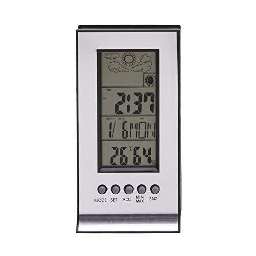 XF-B Draadloos Weer Station Met Draadloze Sensoren Meter Station Thermometer Hygrometer Alarm Klok Kalender Temperatuur Records