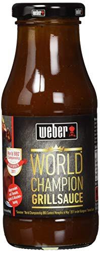Weber World Champion BBQ Sauce, 6er Pack (6 x 240 g)