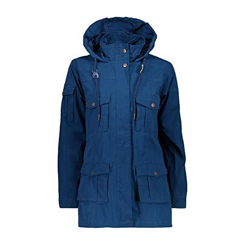 CMP functionele jas Woman Jacket FIX Hood donkerblauw waterafstotend
