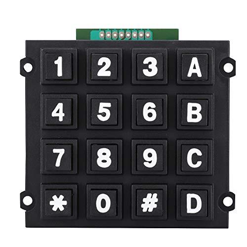 Mini-toetsenbord met 16 toetsen 4x4 modules Draagbaar extern toetsenbord voor kleine MCU's Handig gebruik en aansluiting voor microcontrollers met één chip