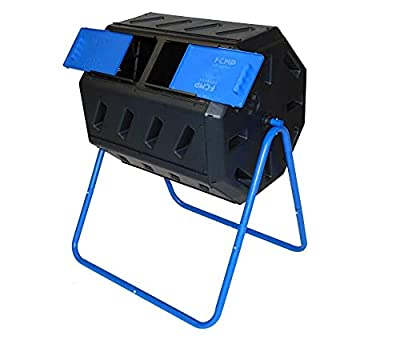 FCMP Outdoor IM4000 Dual Chamber Tumbling Composter