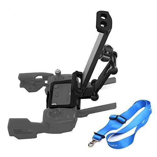 O'woda Supporto per Telefono / Tablet Prolunga Regolabile da 10,1 Pollici Drone Supporto per Telecomando con Cordino per DJI Spark / Mavic PRO / Mavic Air (Non per Mavic 2)