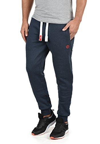 !Solid BennPant Herren Sweatpants Jogginghose Sporthose Mit Fleece-Innenseite Und Kordel Regular Fit, Größe:XXL, Farbe:Insignia Blue Melange (8991)