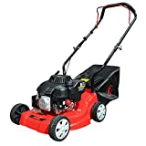 "Best Petrol Lawnmowers - RocwooD Petrol Lawnmower Push 16"" 132cc Mower Plus Review"
