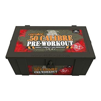 Grenade 50 Calibre Pre-Workout Devastation - Killa Cola, 50 Servings