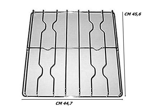 GRIGLIA CUCINA GAS SMEG WESTINGHOUS CM 45,6 X 44,7 4 FUOCHI COLORE INOX F 5312