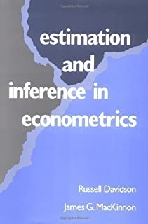 Estimation and Inference in Econometrics by Davidson, Russell, MacKinnon, James G. published by OUP USA (1993)