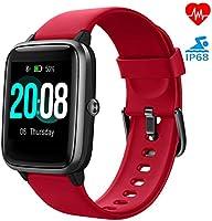 LIFEBEE Smartwatch, Fitness Armband Fitness Tracker Voller Touch Screen Smart Watch IP68 Wasserdicht Fitness Uhr mit...